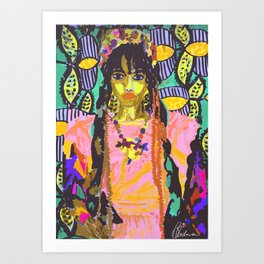 FKA TWIGS NO.2 Art Print