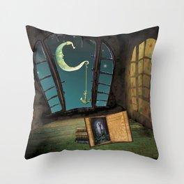Imaginary Throw Pillow