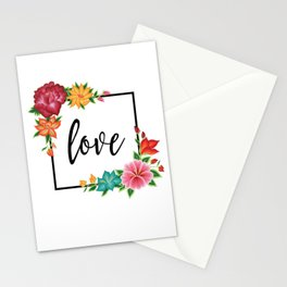 Floral Love II. Stationery Cards