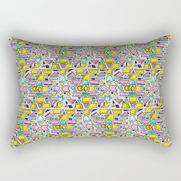 Pastel Shapes  Rectangular Pillow
