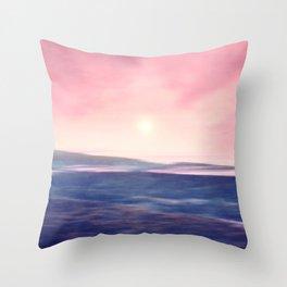 Pastel landscapes 01 Throw Pillow