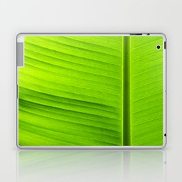 banana tree leaf Laptop & iPad Skin