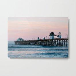 Oceanside Metal Print