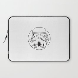 Stormtrooper from Galactic Empire. Laptop Sleeve