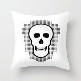 Skull  #society6 #decor #buyart #artprint Throw Pillow