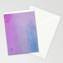 Gold and Lavender Stationery Cards