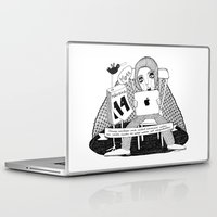 swedish Laptop & iPad Skins featuring Swedish Alliteration by Karin Ohlsson