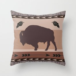 American Native Pattern No. 273 Throw Pillow