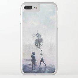 Sacrifice ; Clear iPhone Case