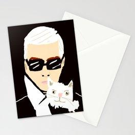 KARL & CHOUPETTE Stationery Cards