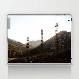 sunset in angeles crest forest Laptop & iPad Skin