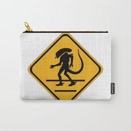 Alien Crosswalk Sign 1 Carry-All Pouch