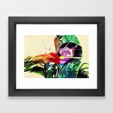 Green Arrow, Arrow Framed Art Print