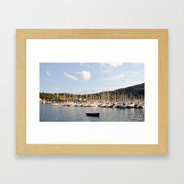 Italy at Summertime Framed Art Print