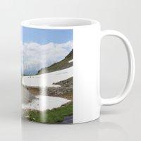 switzerland Mugs featuring Switzerland by Eng Amali