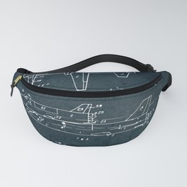 Space shuttle vehicle Fanny Pack