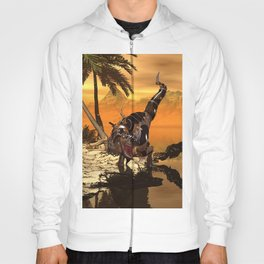 T-rex with armor Hoody