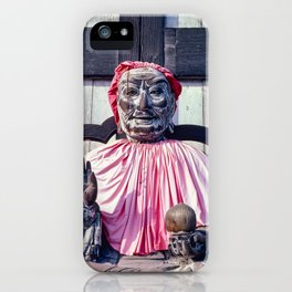 Pindola Bharadvaja statue - Japan iPhone Case