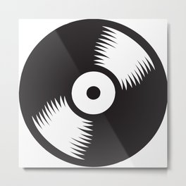 Vinyl Record Metal Print
