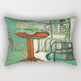 Henri Matisse The Green Room Rectangular Pillow