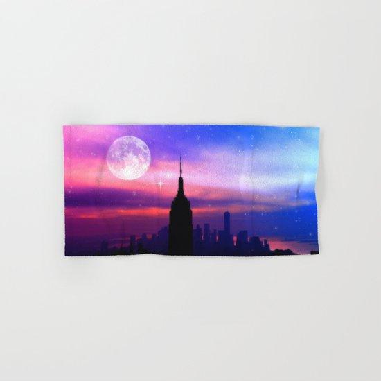 under the moon New York Hand & Bath Towel