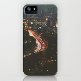 L.A. Skyline. Stardust iPhone Case