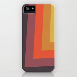 Retro Night Lights Color Palette iPhone Case