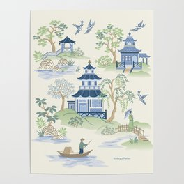 Chinoiserie Poster