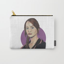 Katniss // Lavender Carry-All Pouch