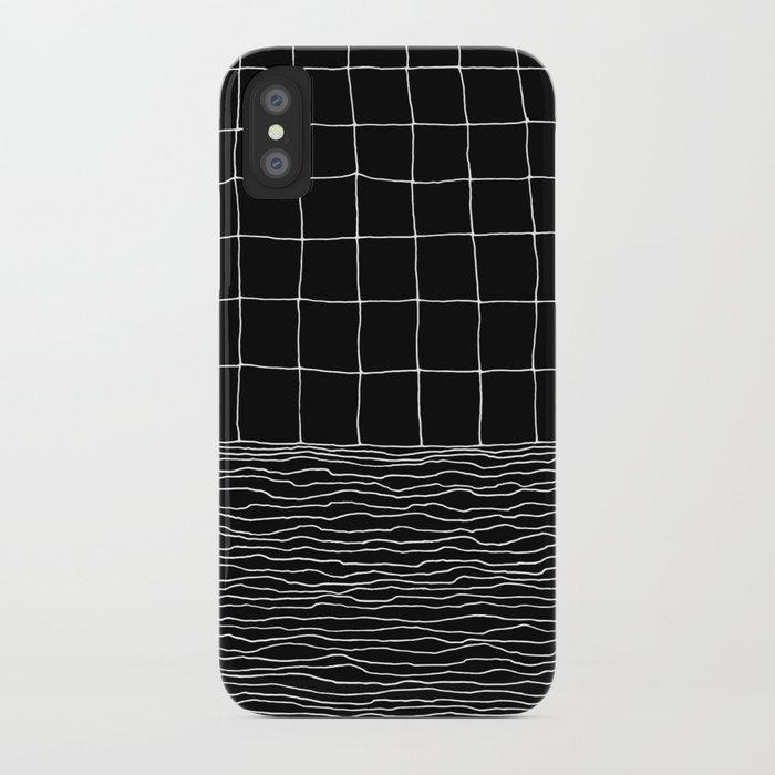 Hand Drawn Grid iPhone Case