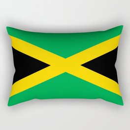 Flag of Jamaica Rectangular Pillow