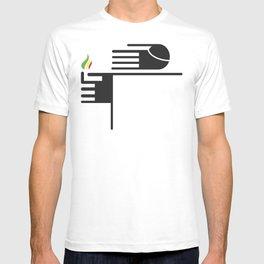 Feuer auf der Spitze T-shirt