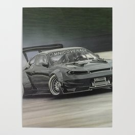 Drifting Car II Poster