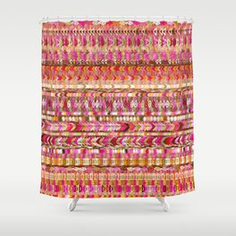 Colorful Ethnic Pattern Shower Curtain