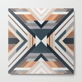 American Native Pattern No. 212 Metal Print