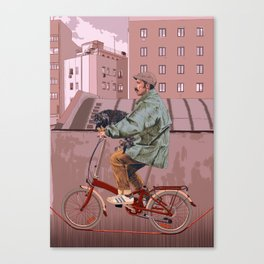 City bikes Canvas Print