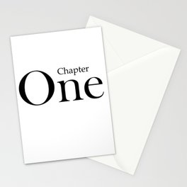 Chapter One Stationery Cards