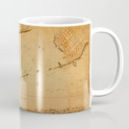 Map of Tripoli 1804 Coffee Mug