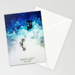 Beyond the clouds | Doctor Who Stationery Cards