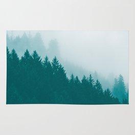 Green Mountain Fog Rug