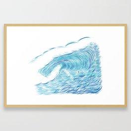 INFINITE ENDLESS TUBE Framed Art Print