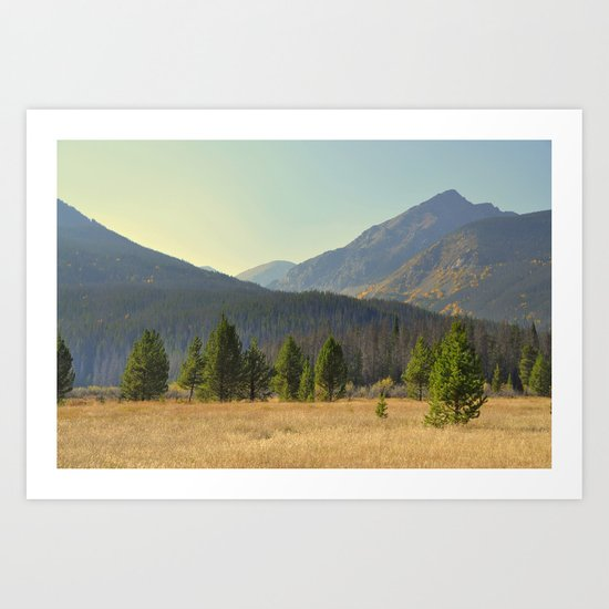 Rocky Mountain National Park Art Print
