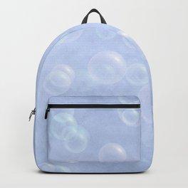 Pastel Blue Bubbles Backpack