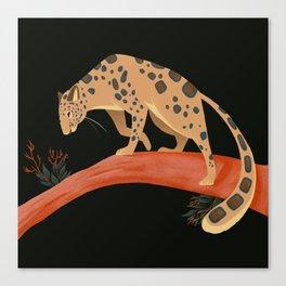 Endangered Series: Amur Leopard Canvas Print