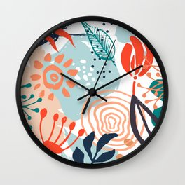 Essence of Spring Wall Clock