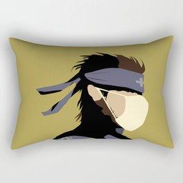 Paramedic Solid Snake Rectangular Pillow