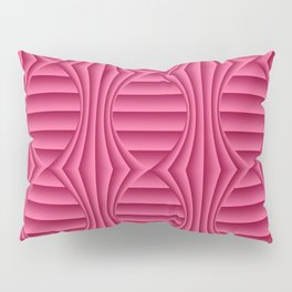 Sangria Half Fold Material Tied Pillow Sham