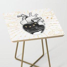 Desert Heart Inktober :: More Magick Side Table