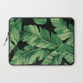 Tropical banana leaves II Laptop Sleeve