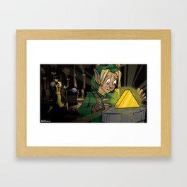 Scorpion VS link Framed Art Print